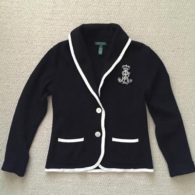 Ralph Lauren knit blazer ($5)