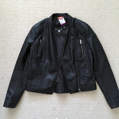 Joe Fresh faux leather jacket ($10)