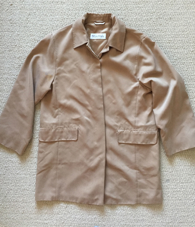 MaxMara coat ($7)