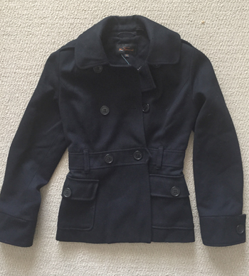 Ben Sherman pea coat ($8)