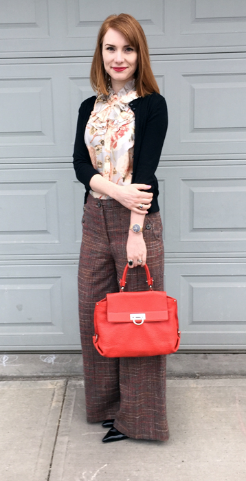 the everyday red bag