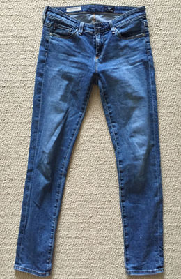 Adriano Goldschmied Stevie jeans ($4)