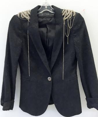 Zara blazer ($8)