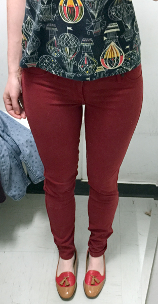 Rich & Skinny jeans ($8)