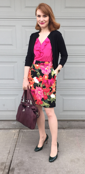 bold florals blooming