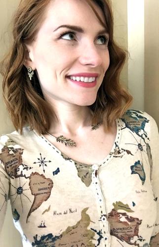 necklace, BR; earrings, J. Crew