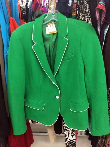 Gap blazer ($8?)