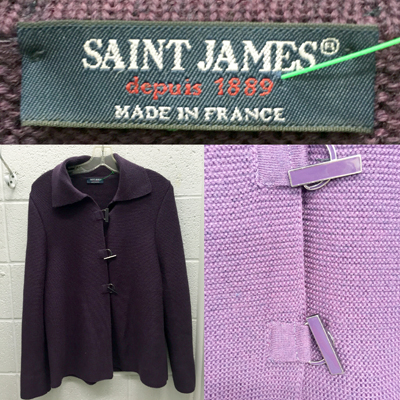 Saint James cardigan ($7)