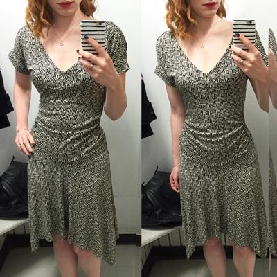 DVF dress ($3.50)