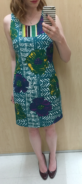 Anthro dress ($12)