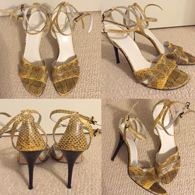 Stuart Weitzman sandals ($12)