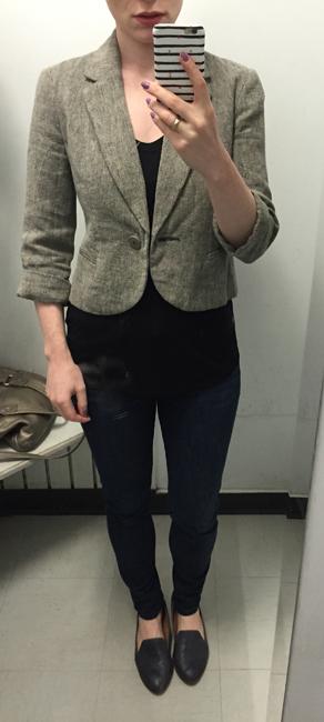 Tabitha cropped blazer