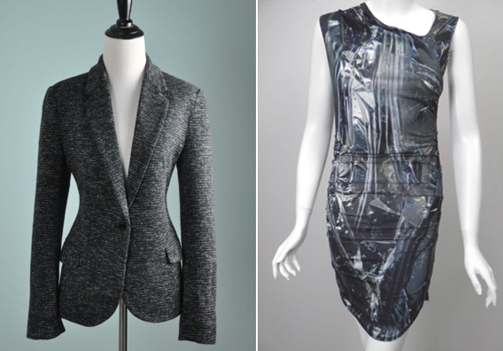 Cartonnier blazer // Helmut Lang dress