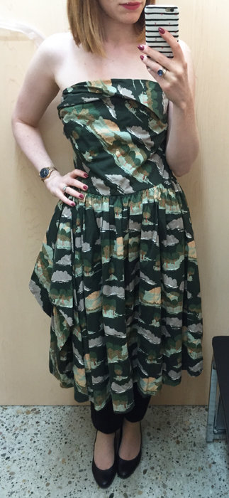 Naughty (?) brand dress - please excuse the terrible posture