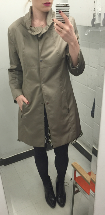 St. John raincoat