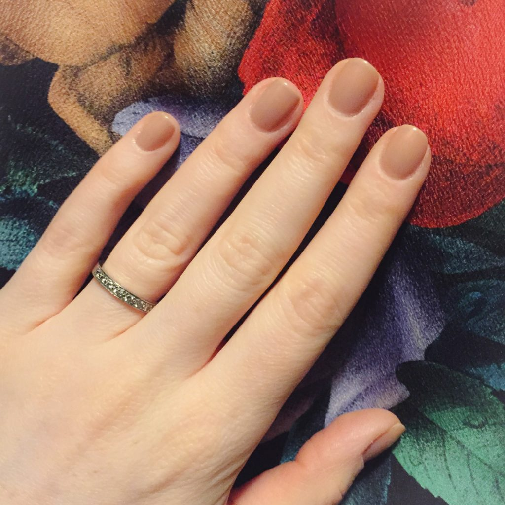 nails: OPI Tickle My France-y