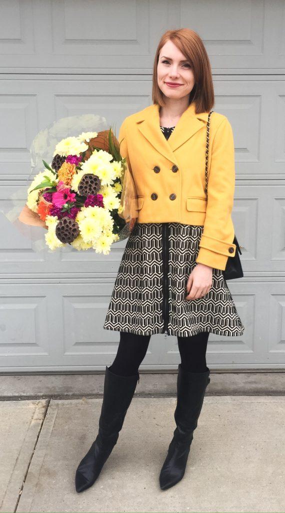 mustard yellow happiness