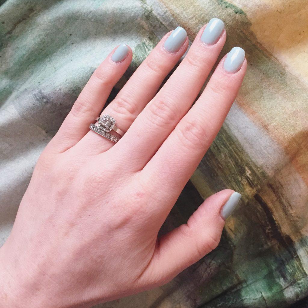 manicure details aka creepy hand selfie