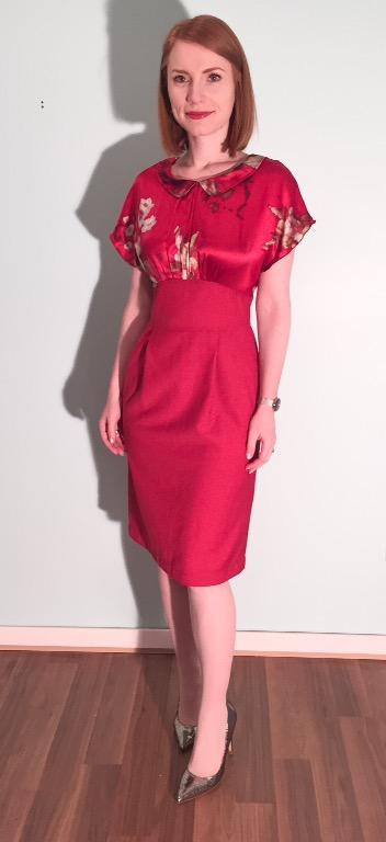 Dress, Allison Wonderland (thrifted)