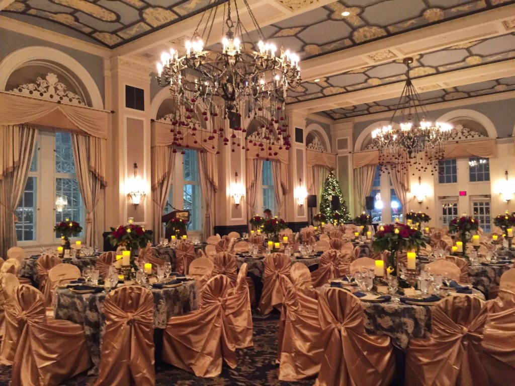 a ballroom fit for a princess