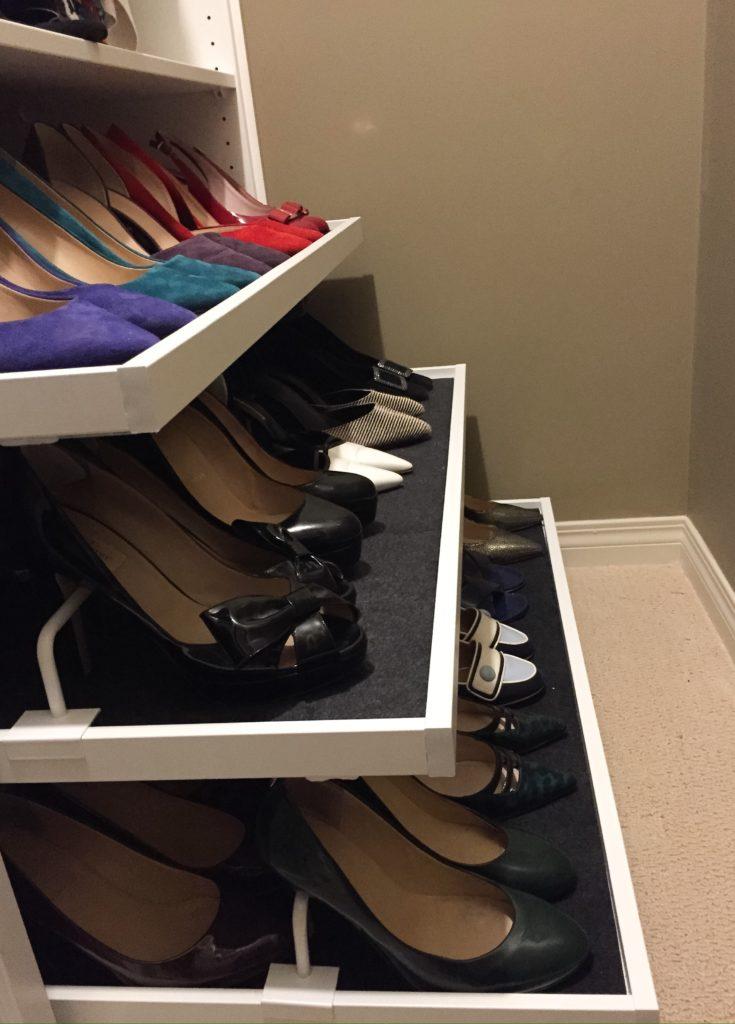 shoe pyramid
