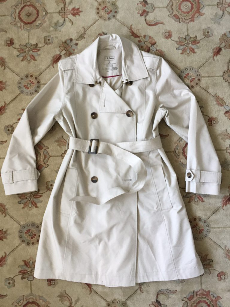 LL Bean trench