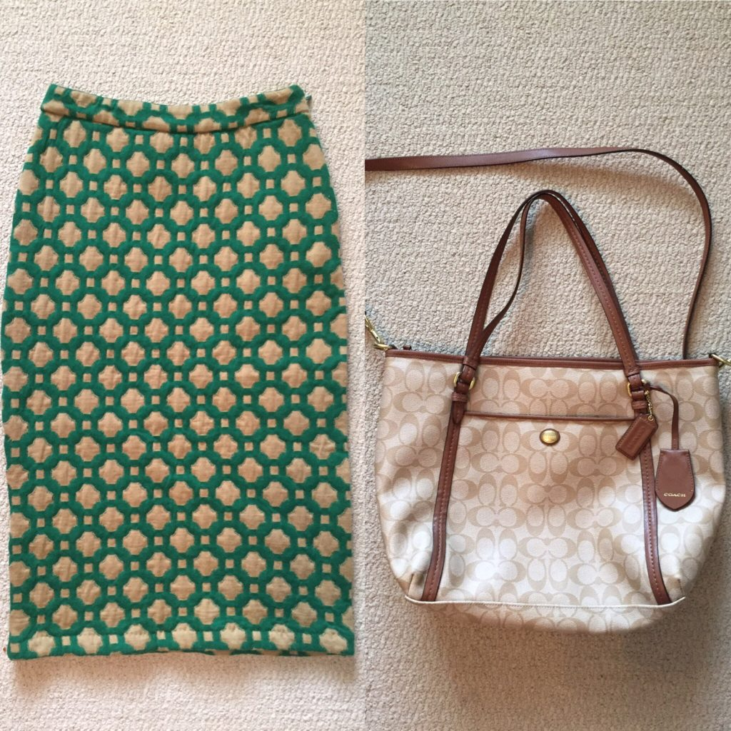 Left, Anthropologie; right, Coach