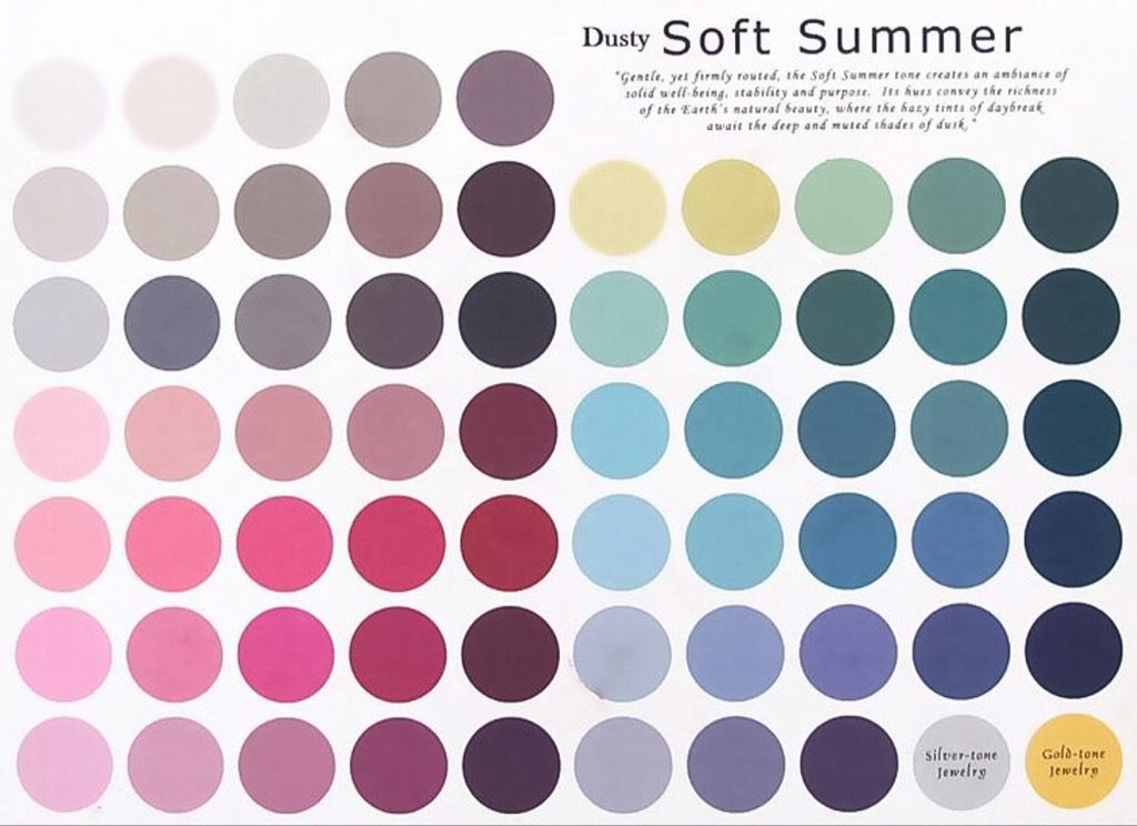 soft summer palette