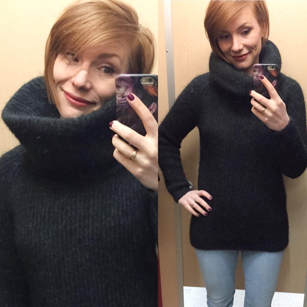 Aritzia brand sweater