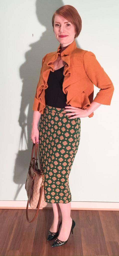 midi skirt for the win