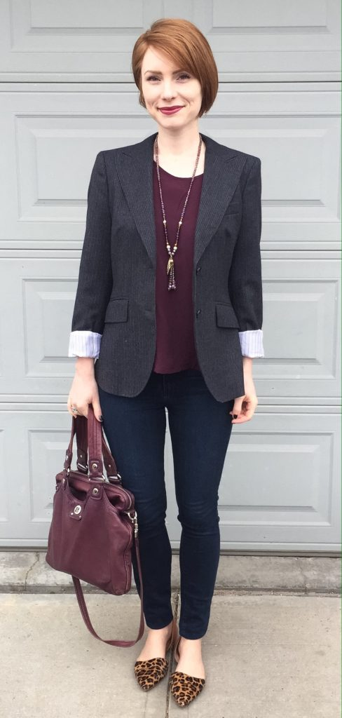 blazer, MaxMara (thrifted)
