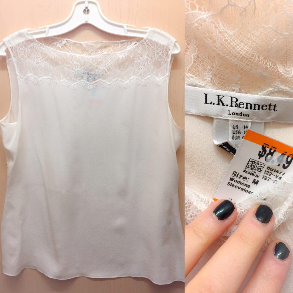 LK Bennett camisole