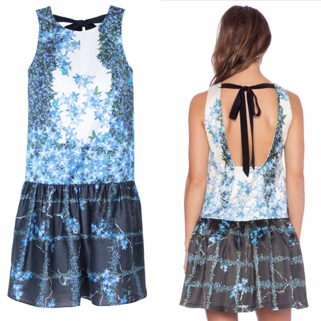 Tibi Sidewalk Floral dress