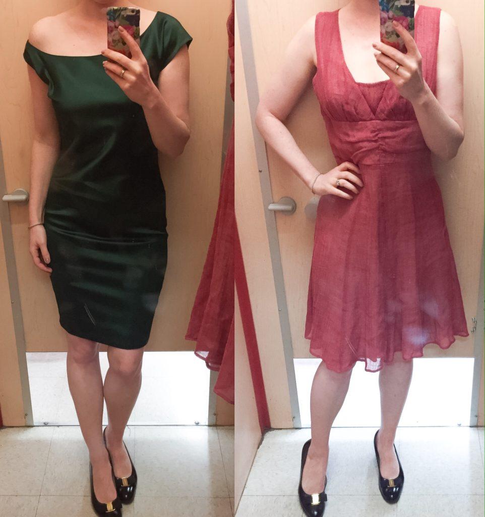 Left: Club Monaco; right: Iris Setlawke