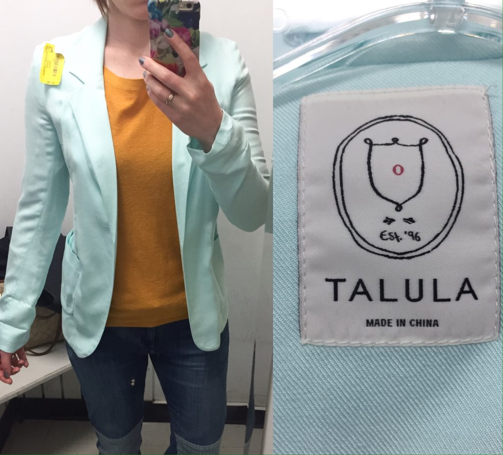 Talula blazer #2