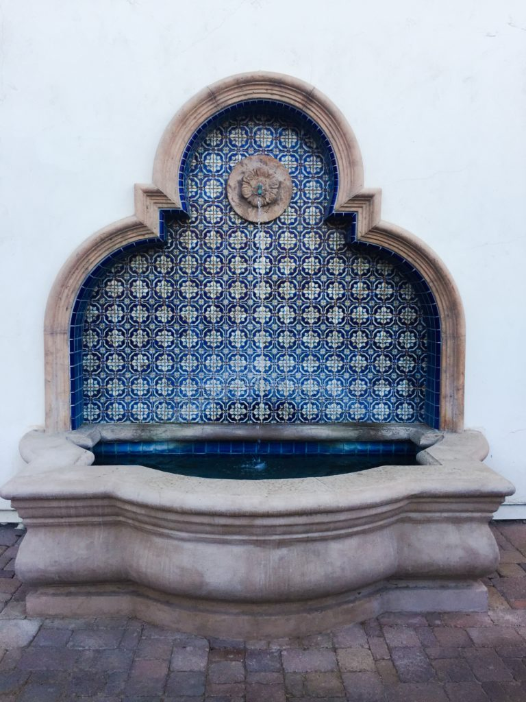 fountain in Old La Quinta