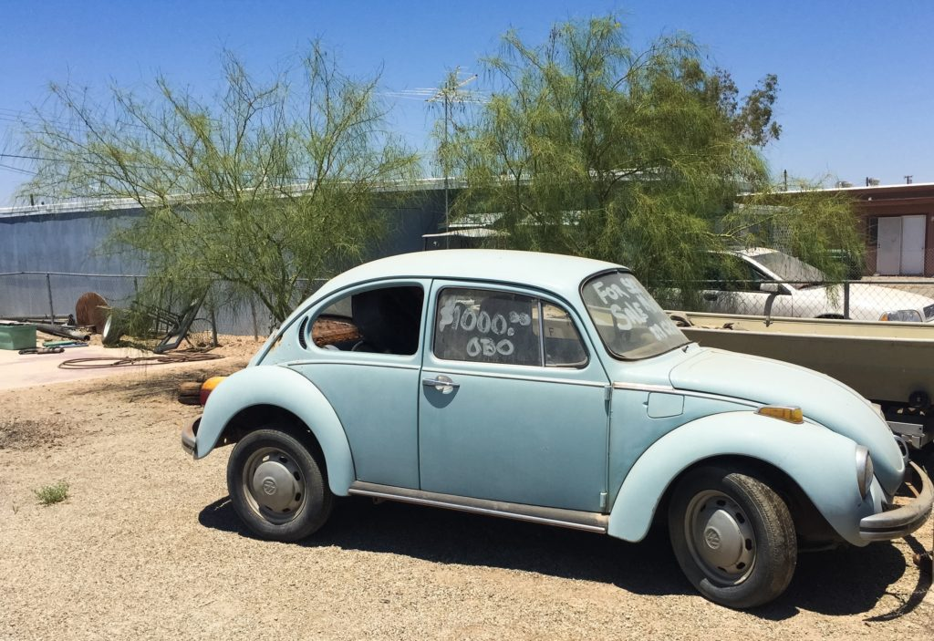 dub-spotting in Bombay Beach