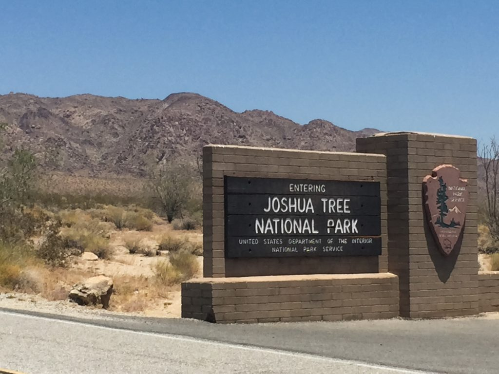 Joshua Tree -- south entrance