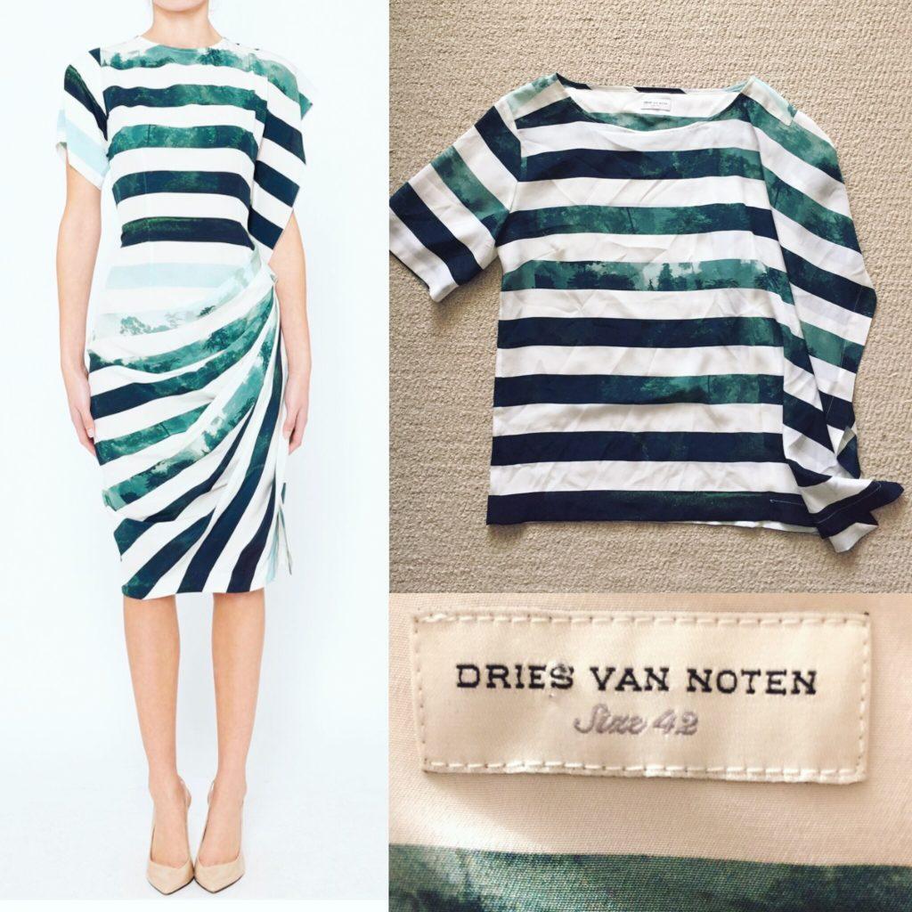 Dries Van Noten top (not dress)